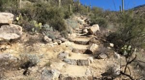 Douglas Spring Trail In Arizona Features Natural Staircases And An Awe-Inspiring Waterfall