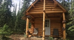 Adventure Into The Alaskan Woods And Spend The Night In An Authentic Handmade Cabin