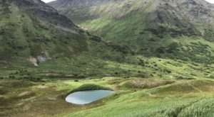 Hike Past Old Alaska Mining Camps To Visit These Two Beautiful Alpine Lakes