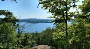 Just About Anyone Can Tackle The Fun Summit Hike At Cranberry Lake Campground In New York