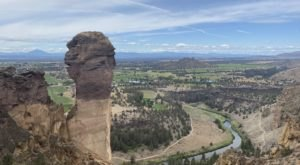 The Misery Ridge Trail At Oregon's Smith Rock State Park Is Hard, But The Views Are Amazing