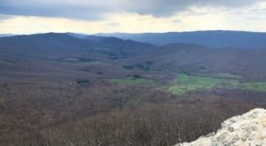 Off The Beaten Path In Shawvers Run Wilderness, You'll Find A Breathtaking Virginia Overlook That Lets You See For Miles
