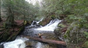 There's A Secret Waterfall In Massachusetts Known As Tannery Falls, And It's Worth Seeking Out