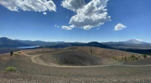Hike Across A 700-Foot-Tall Cinder Cone Volcano In Northern California For Views That Are Out Of This World