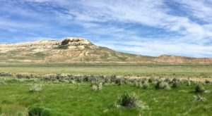 Fossil Butte National Monument Is A Scenic Outdoor Spot In Wyoming That's A Nature Lover's Dream Come True