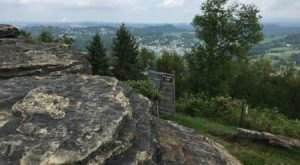 Climb To The Top Of Sky Rock For A View Of Morgantown, West Virginia That Stretches For Miles