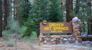 Grover Hot Springs State Park Is So Well-Hidden, It Feels Like One Of Northern California's Best Kept Secrets