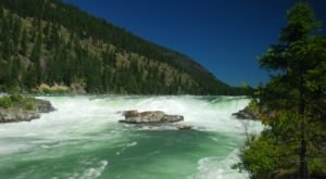 A Quick Detour Is All It Takes To Access One Of Montana's Most Picturesque Waterfalls