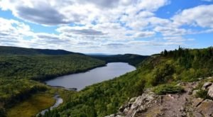 Lake Of The Clouds Trail Might Be One Of The Most Beautiful Short-And-Sweet Hikes To Take In Michigan