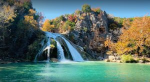 Plan A Visit To Turner Falls, Oklahoma's Beautifully Blue Waterfall