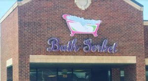 Spend The Afternoon Shopping At Bath Sorbet, Where You'll Find Some Of The Best Smelling Bath Bombs and Souffles In Oklahoma