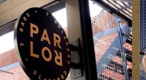 There's Plenty To Do And Eat At The Parlor OKC, Home To 2 Bars, 7 Culinary Concepts, A Lounge, Library, And Den In Oklahoma