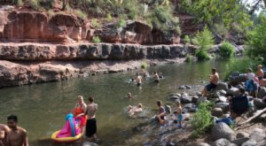 One Of Arizona's Coolest Aqua Parks, Grasshopper Point, Will Make You Feel Like A Kid Again