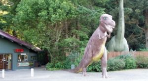 Prehistoric Gardens Is One Of The Strangest Places You Can Go In Oregon