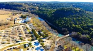 Rent A Cabin Right On The Riverbank At Rio Guadalupe Resort In Texas