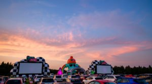 Have A Fun Night Out From The Safety And Comfort Of Your Car At A Parking Lot Social In Texas