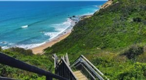 Forget Long Trips – Take A Daycation At Mohegan Bluffs In Rhode Island