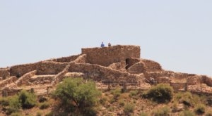 Among The Largest Of Arizona's Ancient Ruins, Tuzigoot National Monument Dates Back Thousands Of Years
