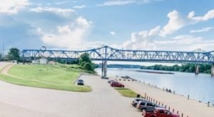 Watch The Sun Set And The Boats Go By At This Charming Riverfront Park In Kentucky