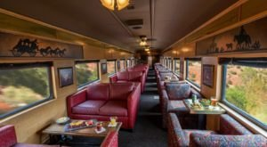 Ride The Rails Like Royalty In The First Class Car On The Verde Canyon Railroad