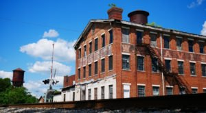 Enjoy Vintage Dining And Antique Shopping Inside The Historic W. B. Davis Hosiery Mill In Alabama