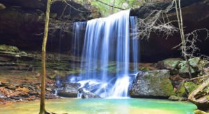 The 10 Best Waterfall Trails In Alabama To Hike Right Now