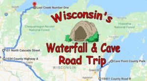 Take This Unforgettable Road Trip To Experience Some Of Wisconsin's Most Impressive Caves And Waterfalls