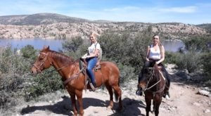 Experience The Arizona Desert Landscape On Horseback With Yavapai Trail Adventures