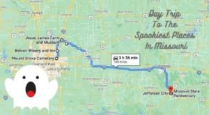 This Creepy Day Trip Through The Spookiest Places In Missouri Is Perfect For Fall