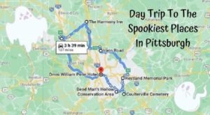 This Creepy Tour Through The Spookiest Places In Pittsburgh Is Perfect For Fall