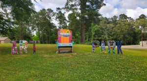 Nature And Art Combine At Leesville Art Park In Louisiana
