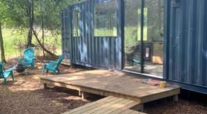 Book A Stay In A Shipping Container In Mississippi For A Unique Glamping Getaway