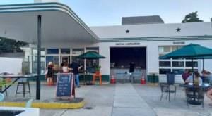 Enjoy Dinner And An Outdoor Movie At Galaxie In New Orleans