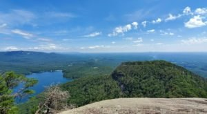You'll Feel Like You're On Top Of The World When You Reach The End Of Table Rock Trail In South Carolina