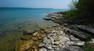 Hike Through A Forest To A Cobblestone Shoreline At Wisconsin's Often-Overlooked Toft Point State Natural Area