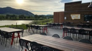 Grab A Drink And Take In Stunning Mountain Views At MAP Brewing Company In Montana