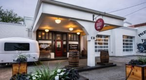This 1920s Gas Station In Georgia Is Now A Prohibition-Style Speakeasy