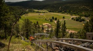 Take A Ride Through South Dakota's Fall Foliage On The Rushmore Mountain Coaster