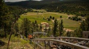 Take A Ride Through South Dakota's Fall Foliage On The Rushmore Mountain Coaster