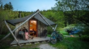 The Rustic Glamping Cabins At Moose Creek Ranch In Idaho Are Almost Too Good To Be True