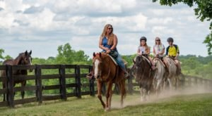 Enjoy A Horseback Riding Adventure In Kentucky Around One Of Our State's Most Popular Attractions