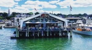 Dine On The End Of Historic Bowen's Wharf At The Lobster Bar In Rhode Island