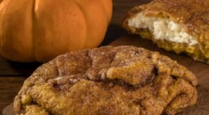 The Pumpkin Cheesecake Stuffed Cookies At Grover's Mill Coffeehouse In New Jersey Are Out-Of-This-World