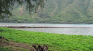 Peaceful Scenery And History Collide At Hawaii's Huilua Fishpond