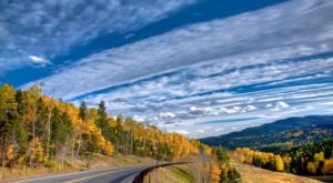 Hop In Your Car And Take Enchanted Circle Scenic Byway For An Incredible 83-Mile Scenic Drive In New Mexico