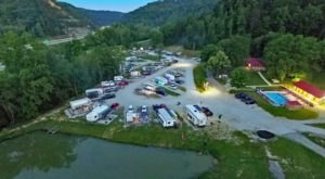 This Hidden Gem RV Park In Kentucky Puts You Right In The Heart Of Red River Gorge
