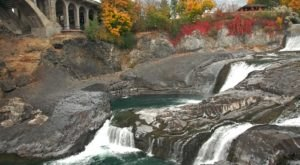 Spokane Falls In Washington Will Soon Be Surrounded By Beautiful Fall Colors