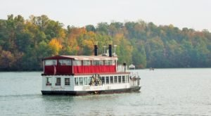 Enjoy A Private Dinner Cruise On Smith Mountain Lake With Virginia Dare Cruises And Marina