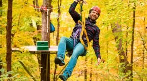 Lake Geneva Ziplines And Adventures In Wisconsin Offers Gorgeous Fall Fun For All Ages