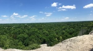 You'll Feel Like You're On Top Of The World When You Reach The End Of Bromide Hill Trail In Oklahoma